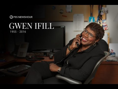 What Gwen Ifill meant to us