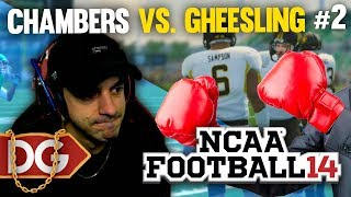 NCAA 14 DYNASTY REBUILD - CHAMBERS vs. GHEESLING - #2