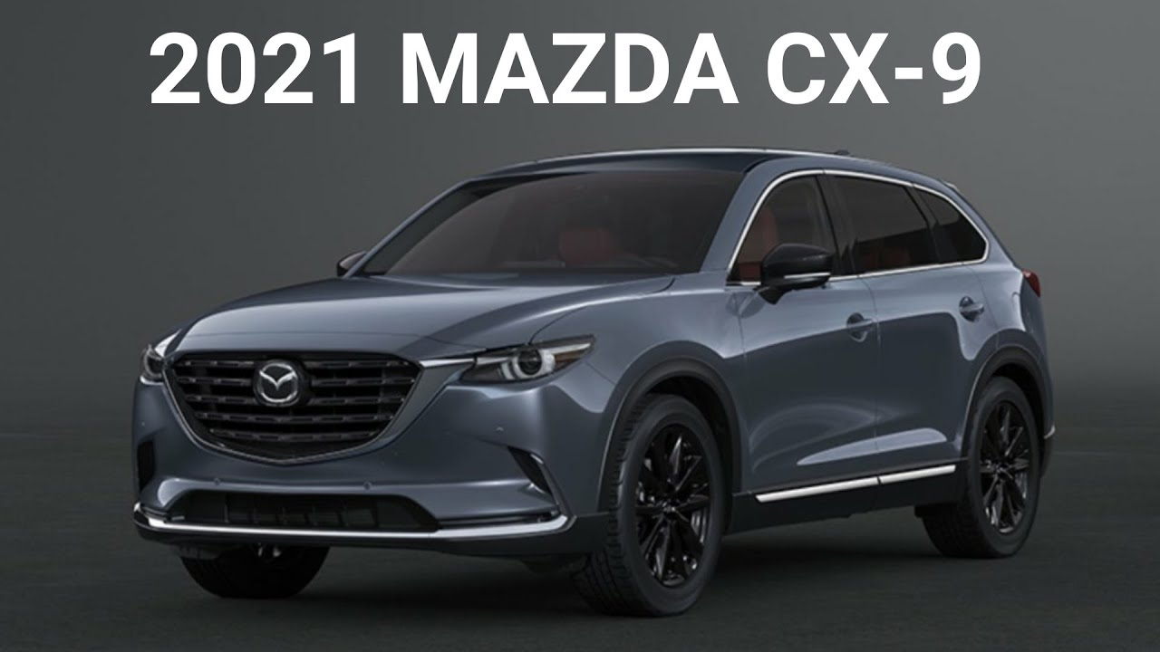 2021 mazda cx-9 updated changes - youtube
