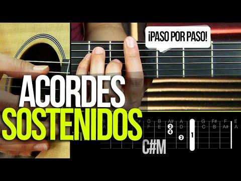 ACORDES SOSTENIDOS DE GUITARRA ¡PASO POR PASO! | APRENDE GUITARRA #3 Prt 4