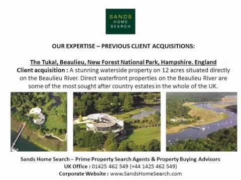 Sandbanks Property For Sale - finding prime property in Sandbanks, Poole Harbour, Dorset. England