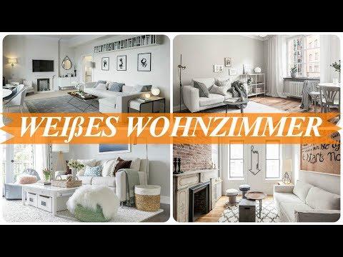 Ideen für wohnzimmer in weiß