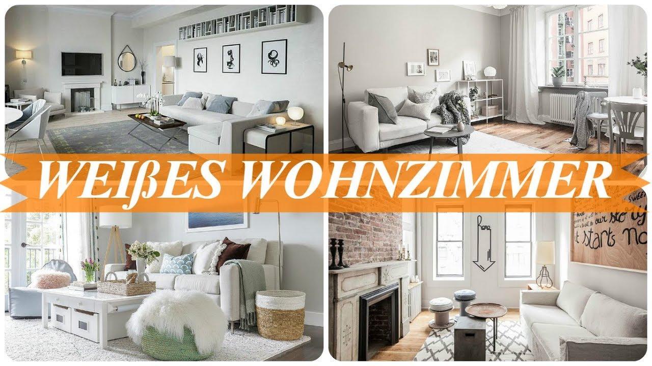 Ideen für wohnzimmer in weiß - YouTube