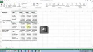 Excel Tipps und Tricks #65 automatische Gliederung vs. manuelle Gliederung