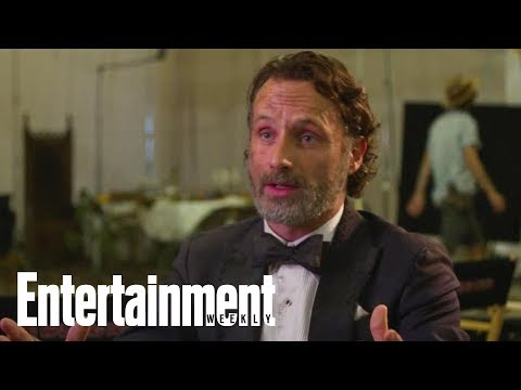 The Walking Dead: Andrew Lincoln Reveals His First (And Favorite) Walker Kill | Entertainment Weekly