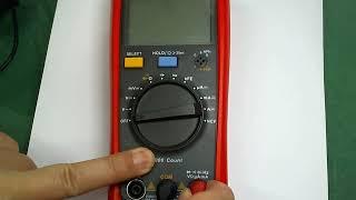 디지털멀티미터 사용법