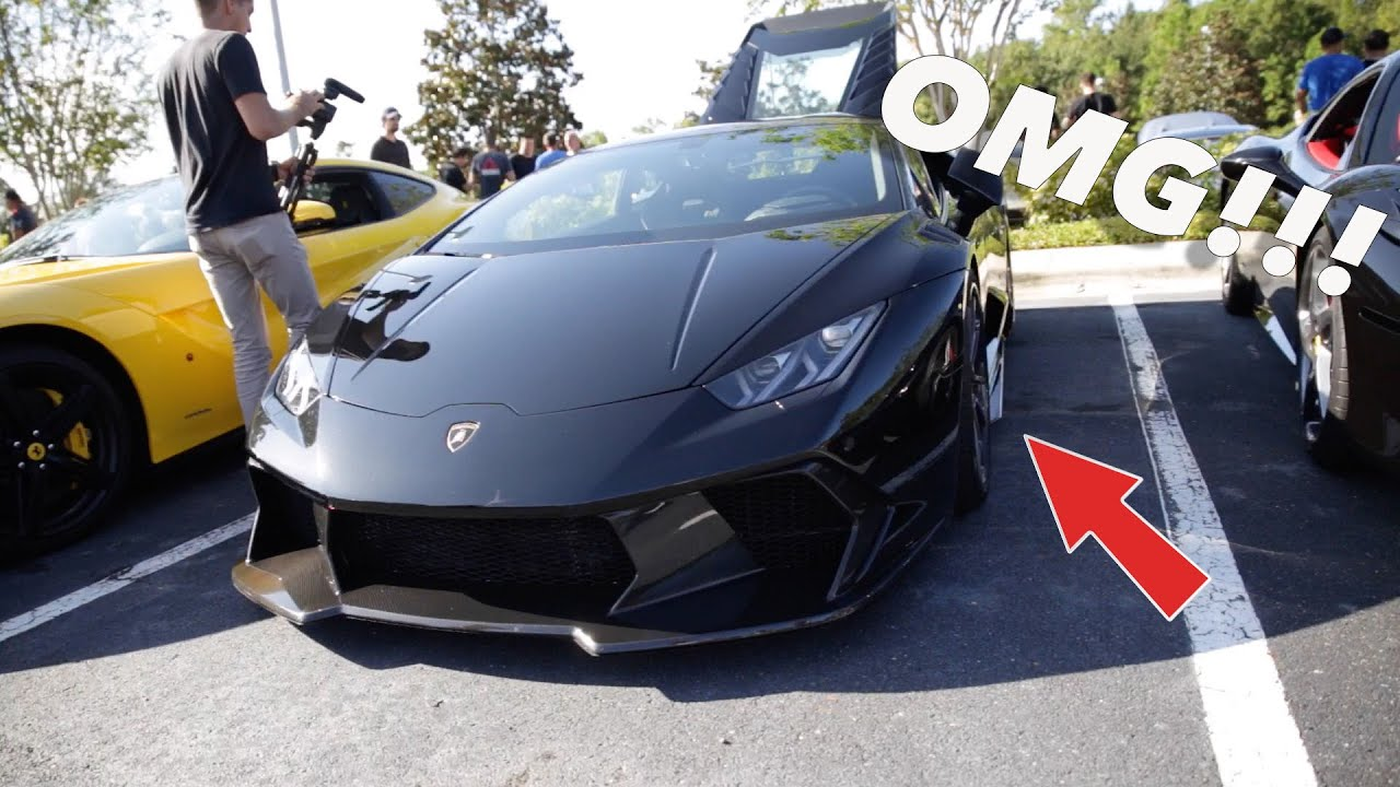 Insane Widebody Lamborghini Amp Installing An Frs Roll Cage
