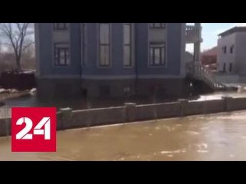 В Казахстане реки вышли из берегов после сильных дождей
