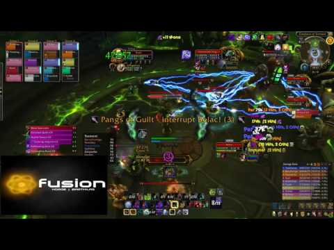 Fusion vs Demonic Inquisition - Tomb of Sargeras Mythic