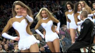 Žalgiris Kaunas Cheerleaders!(More sexy cheerleaders? Join us: http://www.facebook.com/krepsiniosokejos Video: Vytautas Mikaitis., 2012-12-03T00:06:00.000Z)