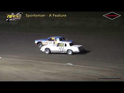 Sportsman Heat/Feature - Rapid Speedway - 9/15/18