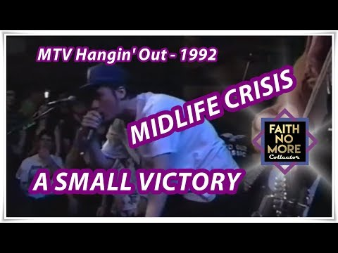Faith No More   Midlife Crisis / A Small Victory (MTV Hangin' Out - July 20, 1992)