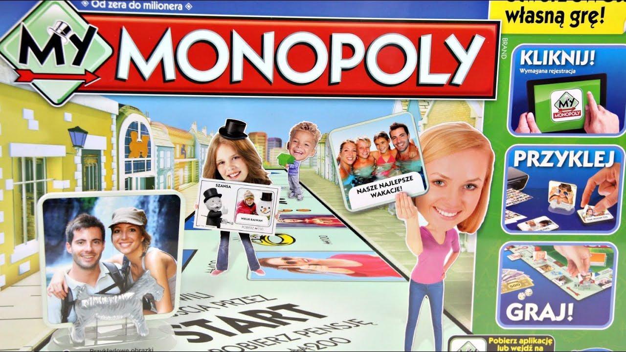 My Monopoly / Moje Monopoly - Hasbro - A8595 - Recenzja