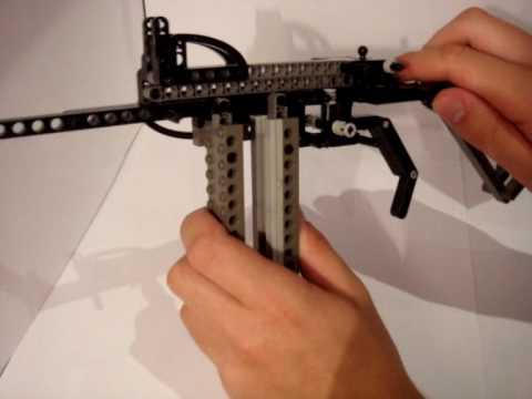 Lego Glock 26 Rubber Band Gun Instructions