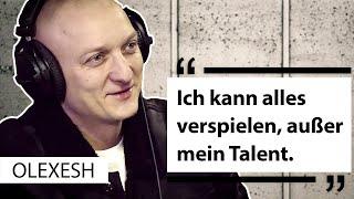 OLEXESH über 150 Songs pro Album, Automaten-Spielsucht, Beziehungstipps &  Führerschein