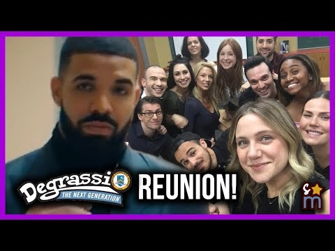 EVERY Degrassi Actor in Drakes IM UPSET Music  Reunion  Then & Now