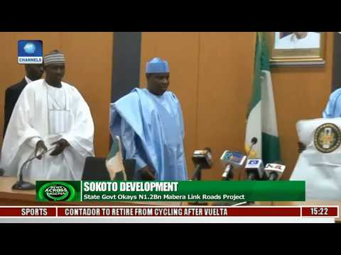 Sokoto State Govt. Okays N1.2Bn Mabera Link Roads Project
