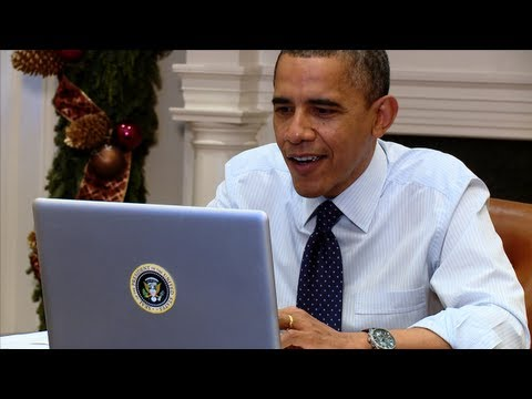Thumbnail: Behind the Scenes: President Obama's Twitter Q&A on #My2k