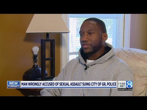 Man cleared of rape charges sues city