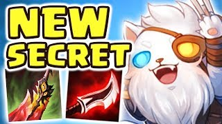 NEW SECRET RENGAR BUILD | LOOK AT THAT DAMAGE!! FULL AD CHROMA RENGAR JUNGLE - Nightblue3