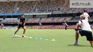 England Training Session In Brisbane Ahead Of India Odi