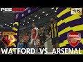 PES 2019 (PC) Watford Vs Arsenal | PREMIER LEAGUE PREDICTION | 15/4/2019 | 4K 60FPS