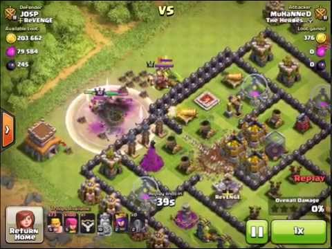 Clash of Clans - Keep Your Gold and Elixir Safe