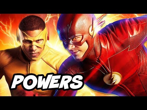 The Flash Season 4 New Flash Powers and New Crossover Episode Explained