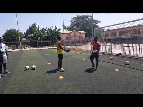 Astros football academy training Ghana 186 keeper 2