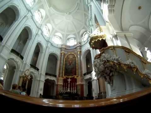 Kathedrale Dresden Orgelspiel am 25.08.2012