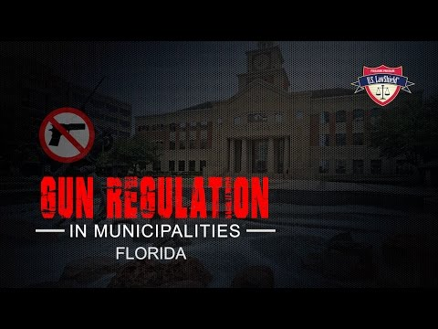 Florida Municipalities and Gun Laws