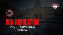 Florida Municipalities and Gun Laws
