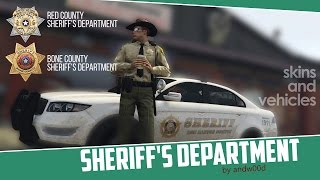 [MODPACK] Департамент шерифа округа Ред и округа Бон.