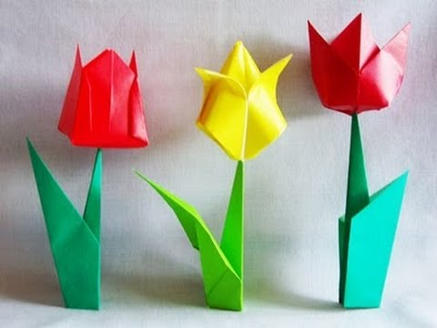 How To Make A Origami Flower Pot