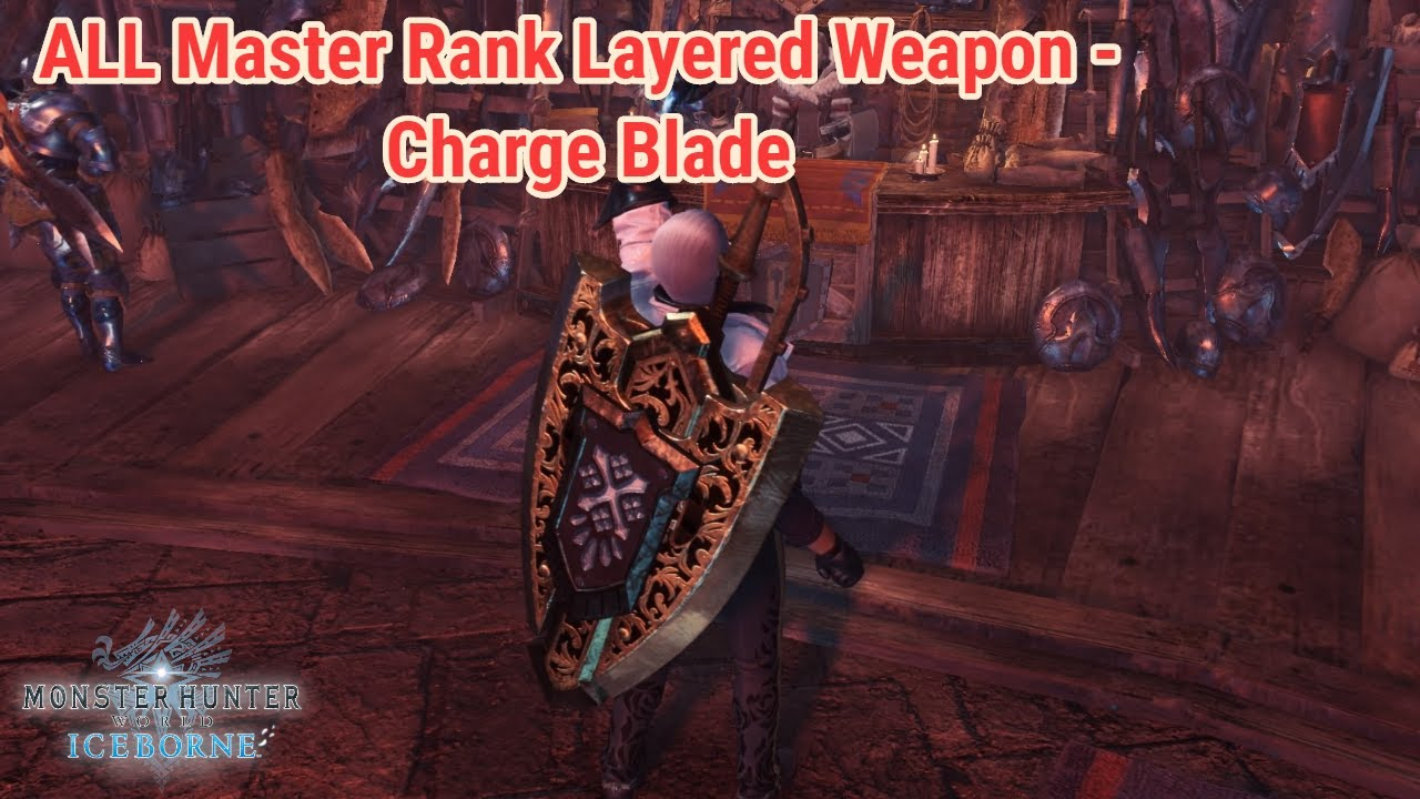 Iceborne All Layered Weapons Charge Blade Youtube We explain shara ishvalda strategies and weaknesses below to help, and once. iceborne all layered weapons charge blade