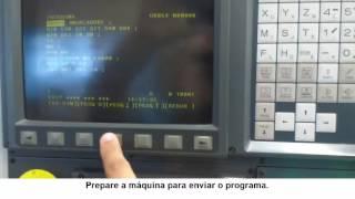 Receber programa no RGDNC ECO COMANDO FANUC