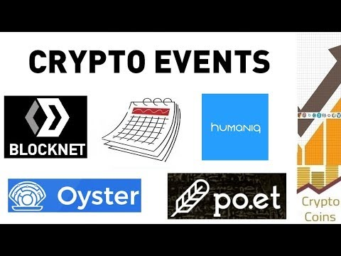 Upcoming Cryptocurrency Events (beginning of March) - Looking for Good Investments and Pumps