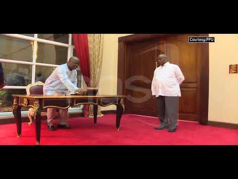 Museveni-Tshishekedi Discuss Regional Security