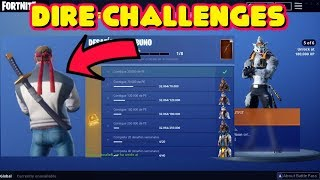 COMMENT À UNLOCK WEREWOLF DIRE SKIN EDIT STYLES ET WOLFPACK BACKBLING IN FORTNITE