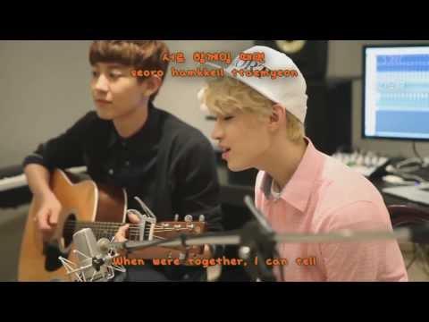 Henry - 1-4-3 (I Love You) Acoustic Ver Ft ChanYeol EXO [Lyric Romanization + Hangul + English]