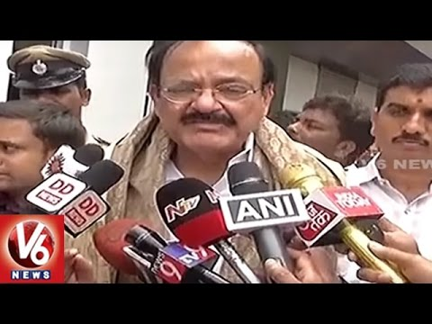 Union Minister Venkaiah Naidu Says Rajinikanth Is Welcome To Meet PM Modi | V6 News