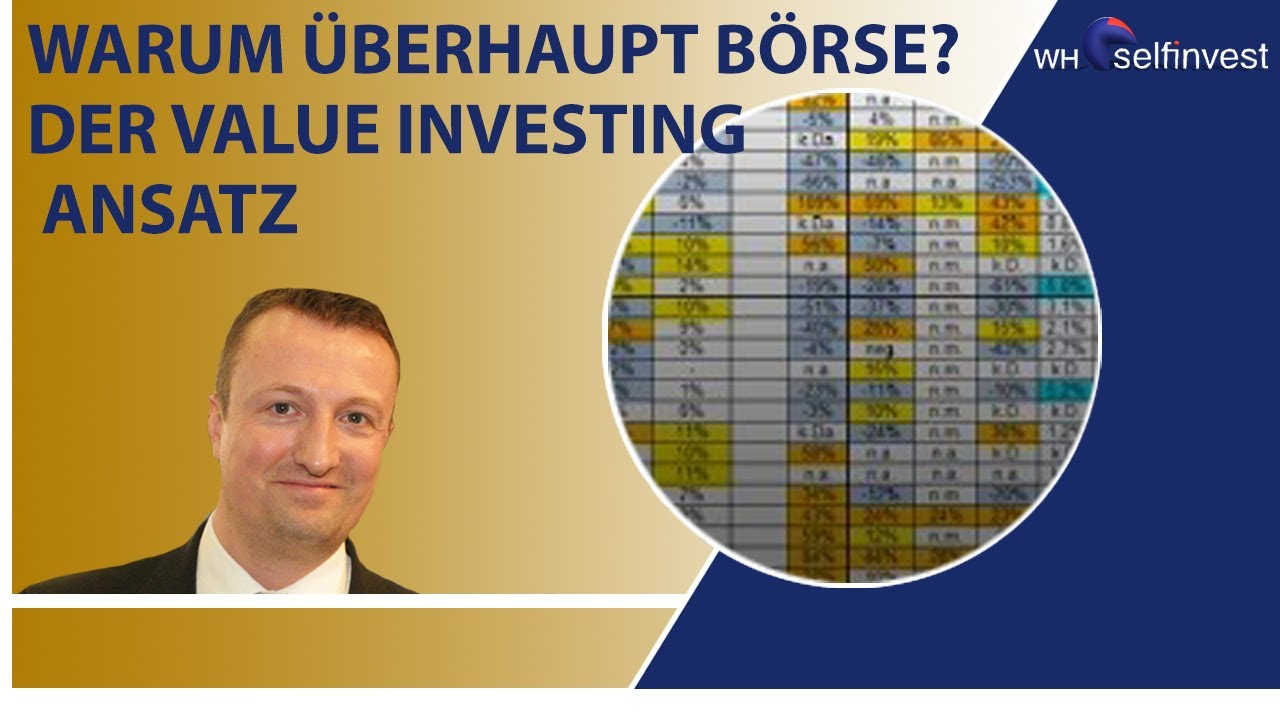 Warum überhaupt Börse - Der Value Investing Ansatz mit Frank Helmes