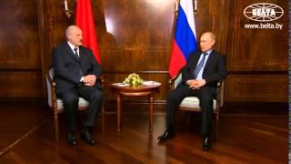 Лукашенко гарантировал Путину безопасность встречи в