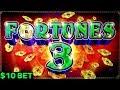 Fortunes 3 Echo Fortunes Slot Machine $10 Bet Bonus BIG WIN   Great Session   Live Slot in LAS VEGAS