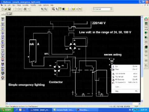 hqdefault how simple emergency lighting system works youtube emergency lighting ctu wiring diagram at arjmand.co