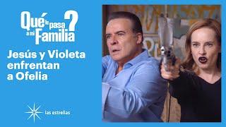 ¿Qué le pasa a mi familia?: ¡Jesús y Violeta enfrentan a Ofelia! | C-100 | Las Estrellas