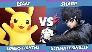 GOML 2020 SSBU - PG | ESAM (Pikachu) Vs. NEST | Sharp (Joker) Ultimate Top 8 Losers