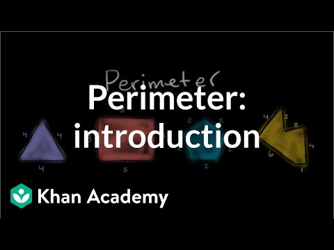 Introduction To Perimeter | Measurement | Pre-Algebra | Khan Academy
