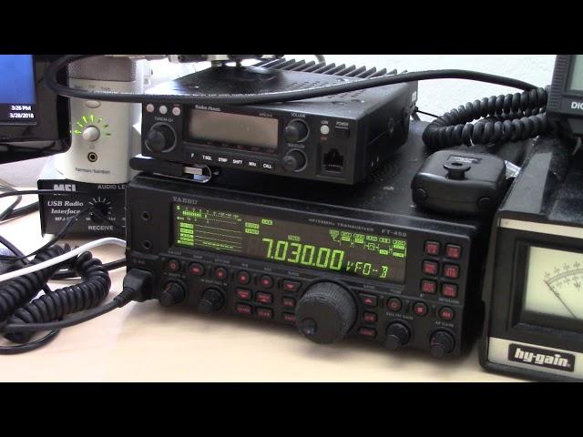 MFJ 8-Band Cobweb VS Hy-Gain AV680 Comparison