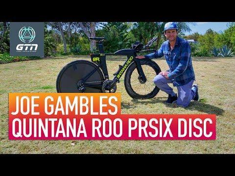 Joe Gambles Quintana Roo PRsix Disc Triathlon Bike